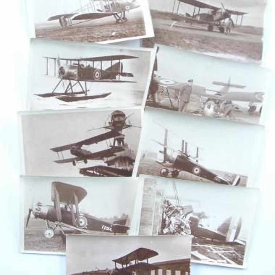WW1 RFC / RAF Snap Shop Photographs.