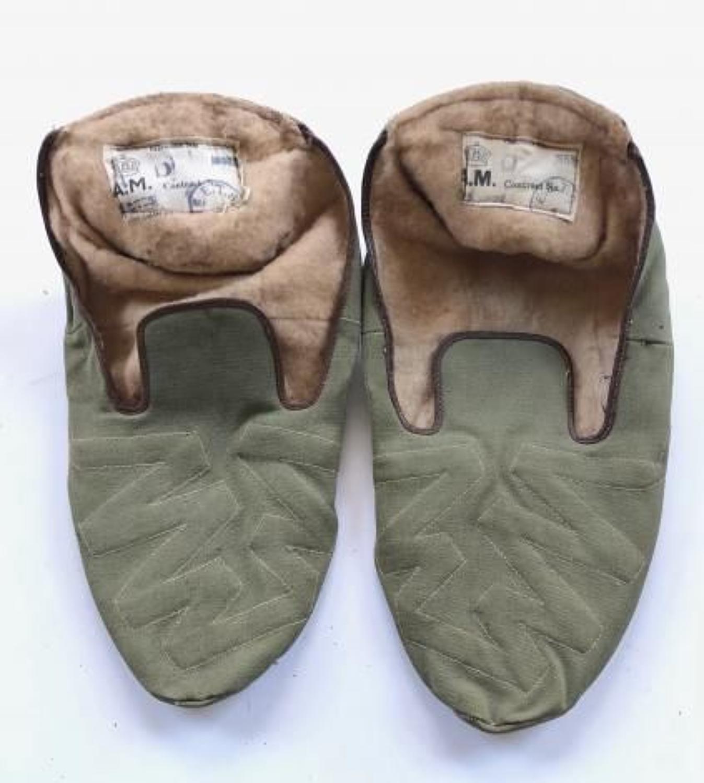WW2 Period RAF Aircrew Heated Socks.