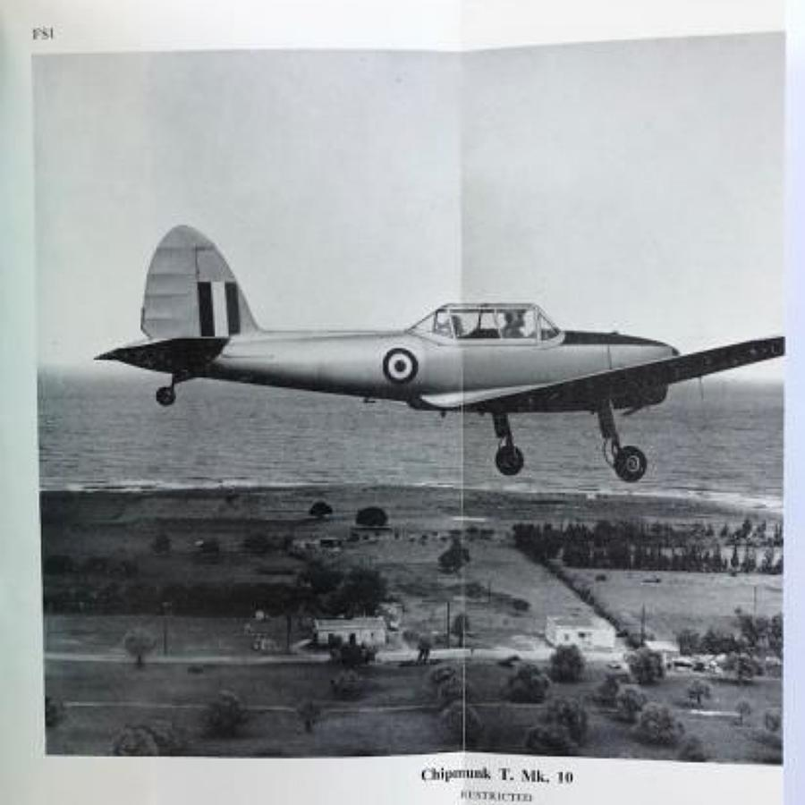 RAF Pilots Notes Chipmunk T MK 10.