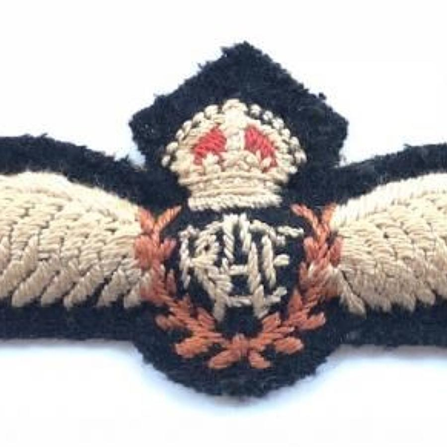 WW2 Royal Canadian Air Force RCAF Pilot's Wings.