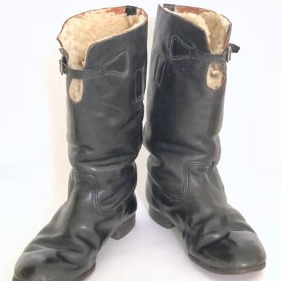 WW2 RAF Battle of Britain Period 1936 Pattern Flying Boots (1938).