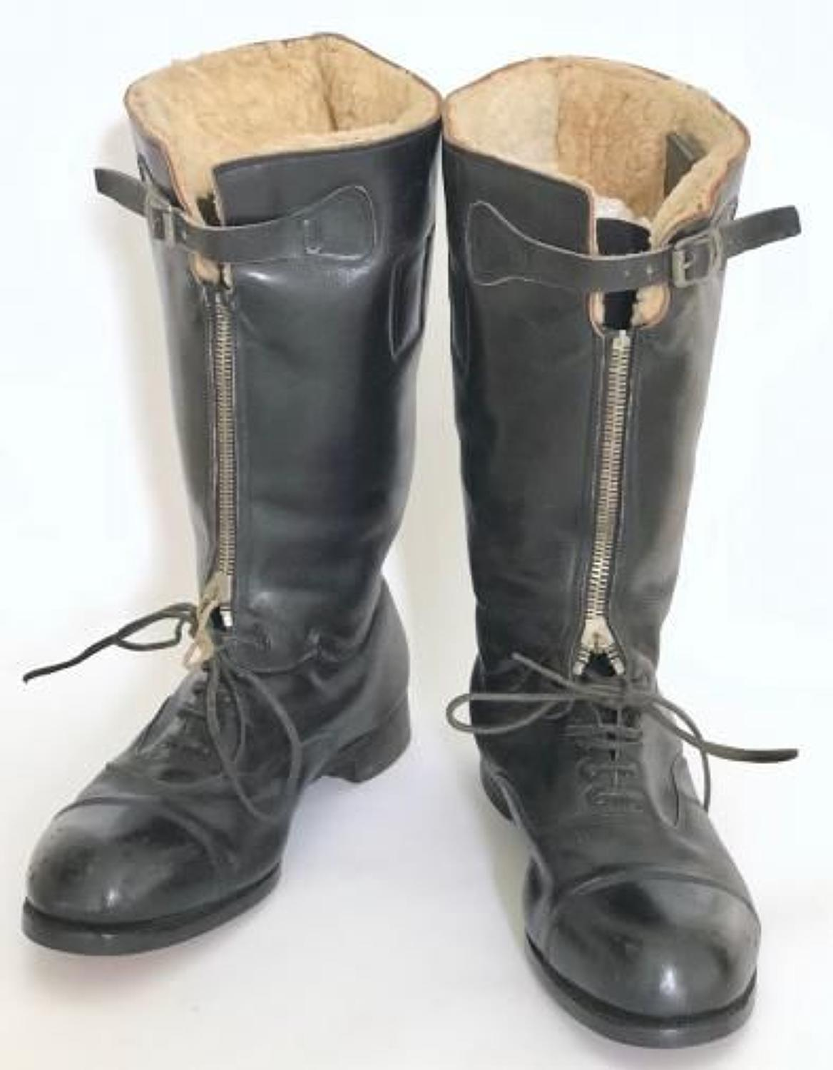 "WW2 RAF 1st Pattern ""Nuffield"" Escape Boots."