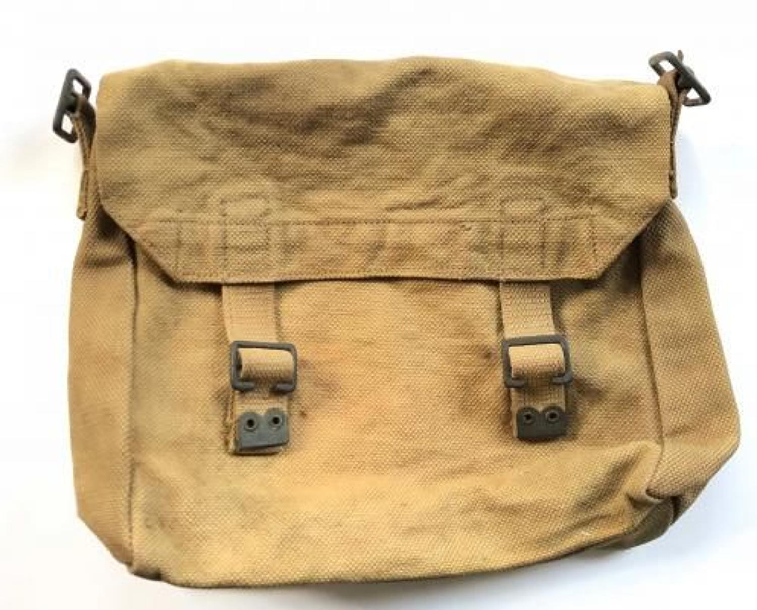 WW1 British Army 1914 Pattern Equipment Side Bag.