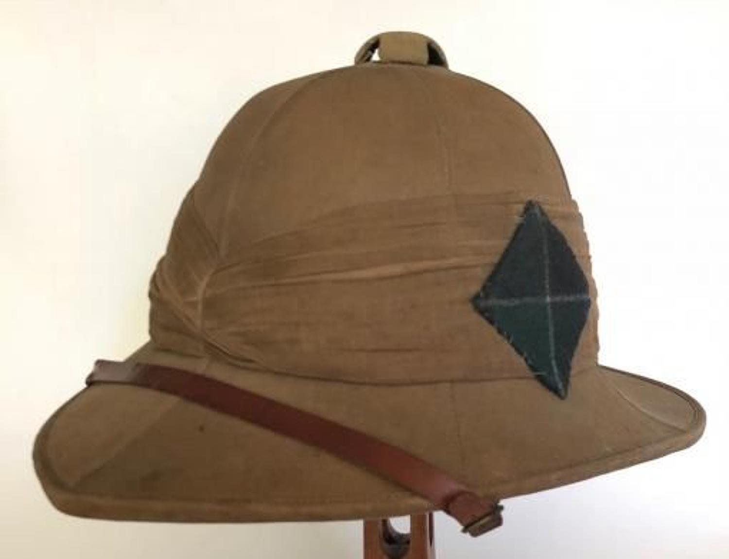 WW1 1918 Scottish Rifles Attributed  Other Rank's Wolseley Pattern For