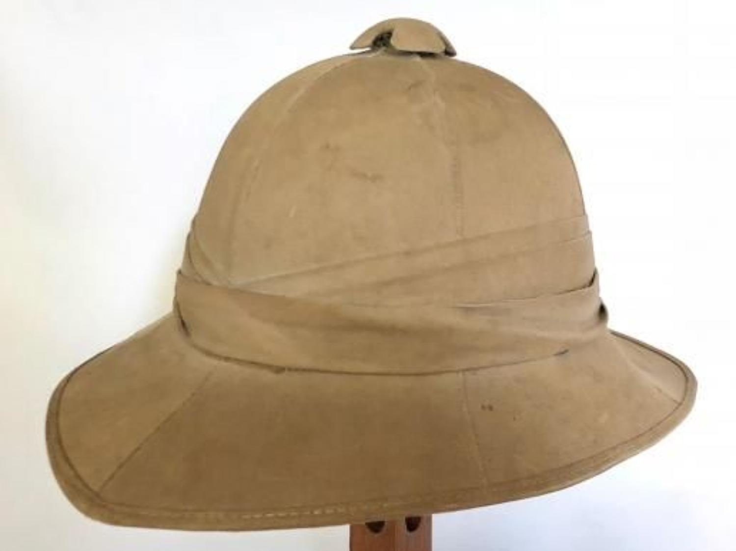 WW2 1942 Issue Other Rank's Wolseley Pattern Foreign Service Helmet
