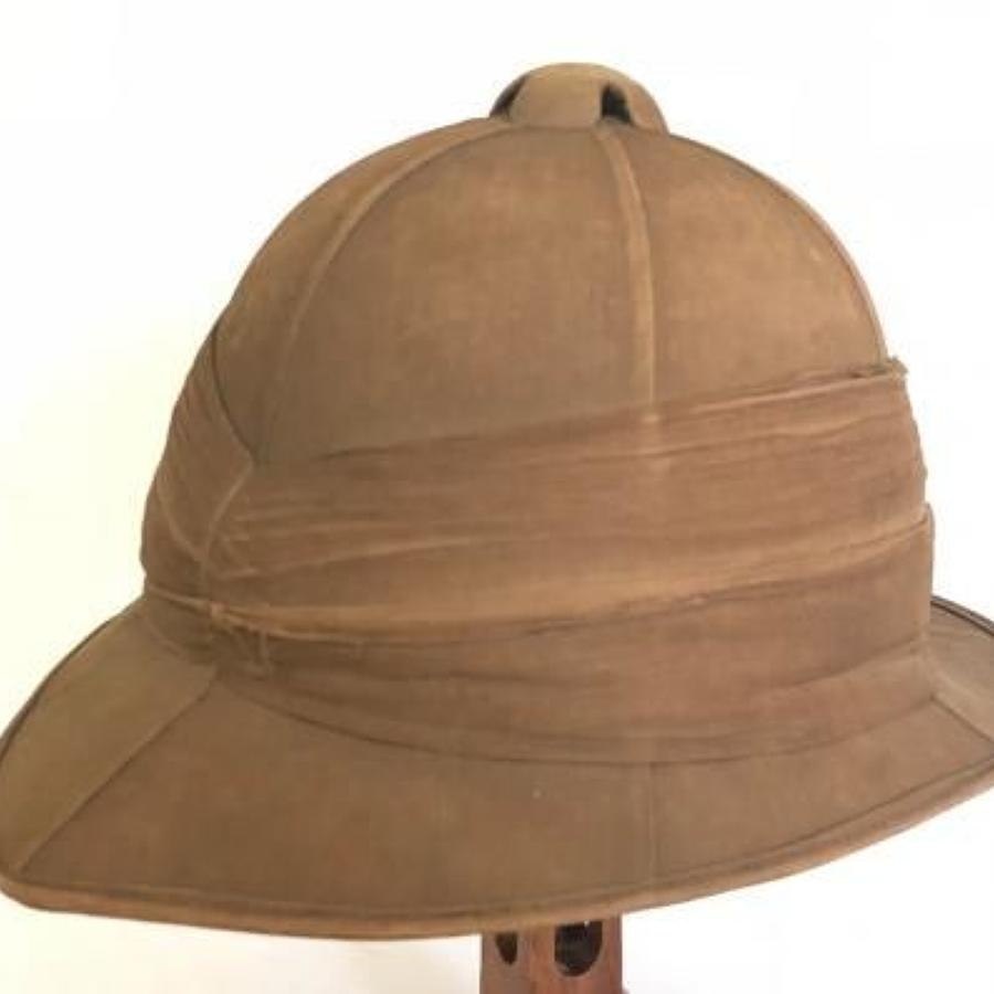 WW1 Period 1917 Other Rank's Wolseley Pattern Foreign Service Helmet