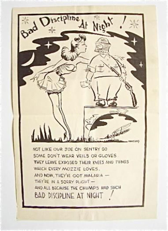 WW2  Far East / Malaya Campaign Army Poster.
