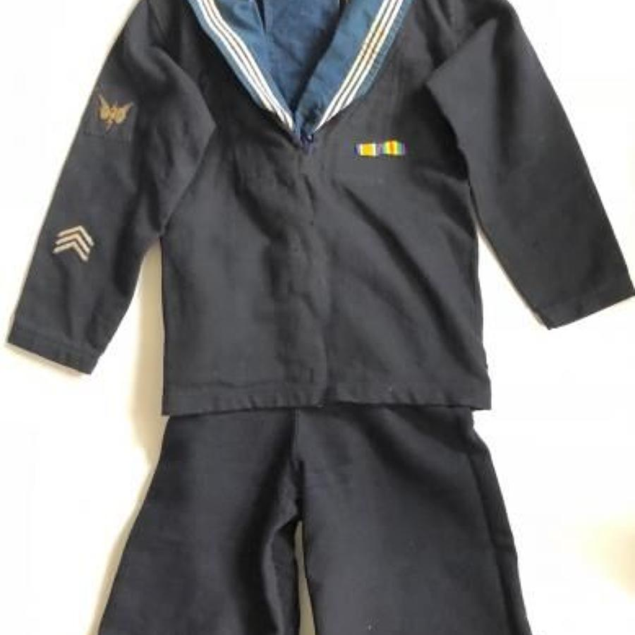 WW1 Royal Navy Attributed Ratings Uniform.