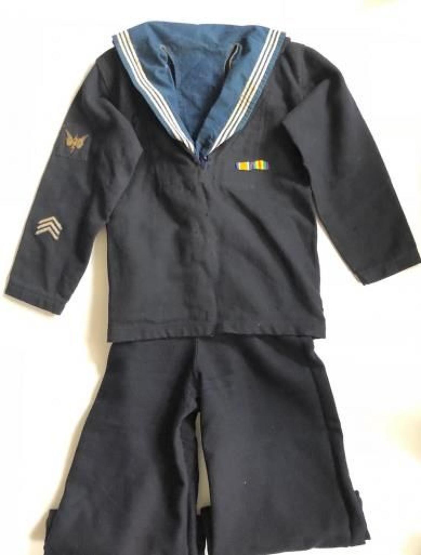 WW1 Royal Navy Attributed Ratings Uniform.