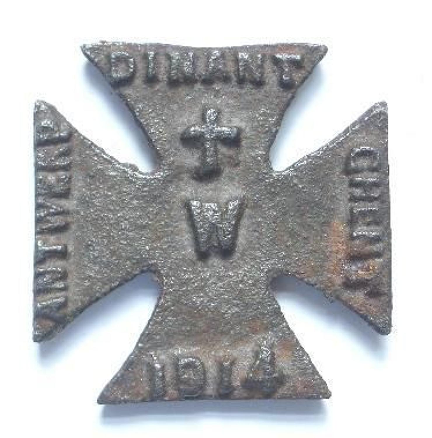 WW1 Propaganda Iron Cross.