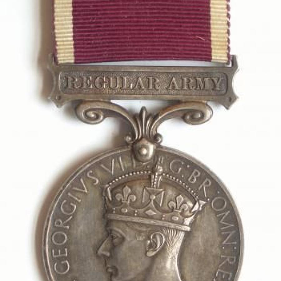 Royal Tank Corps 1937-1939 Long Service & Good Conduct Medal.