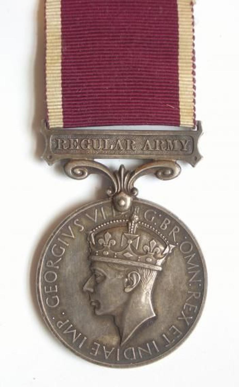Royal Tank Corps 1937-1939 Long Service & Good Conduct Medal.
