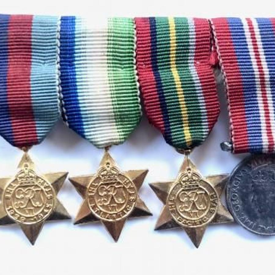WW2 Campaign Set of Miniature Medals.