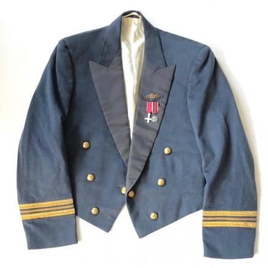 RAF Officer's Mess Jacket and Miniature Medals.
