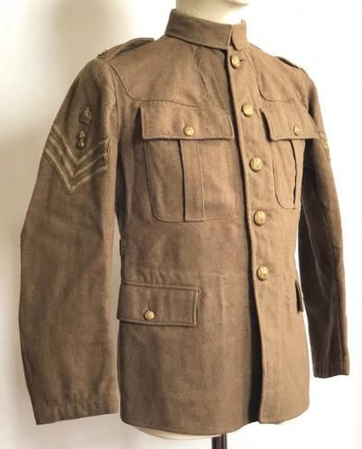 WW1 1915 Dated Royal Engineers 1902 Pattern Other Ranks Tunic.