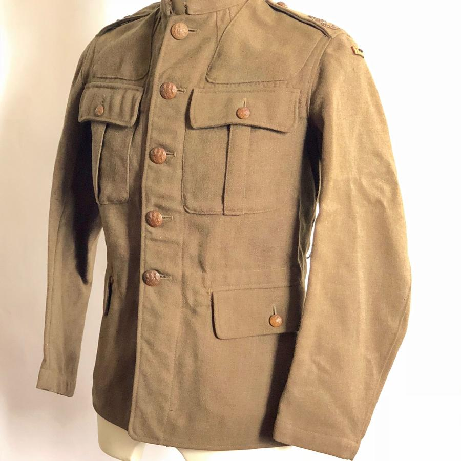 WW1 4th Bn King's Shropshire Light Infantry Other Rank's 1902 Tunic.