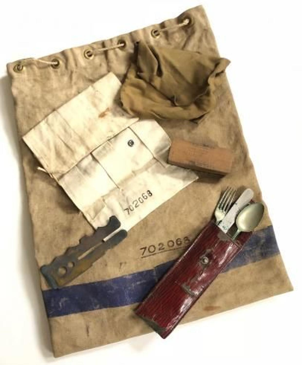 WW2 RAF Kit Bag Etc.