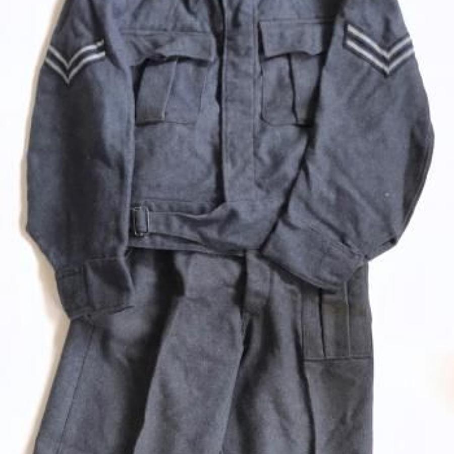 WW2 RAF Battledress Uniform as Originally Worn.