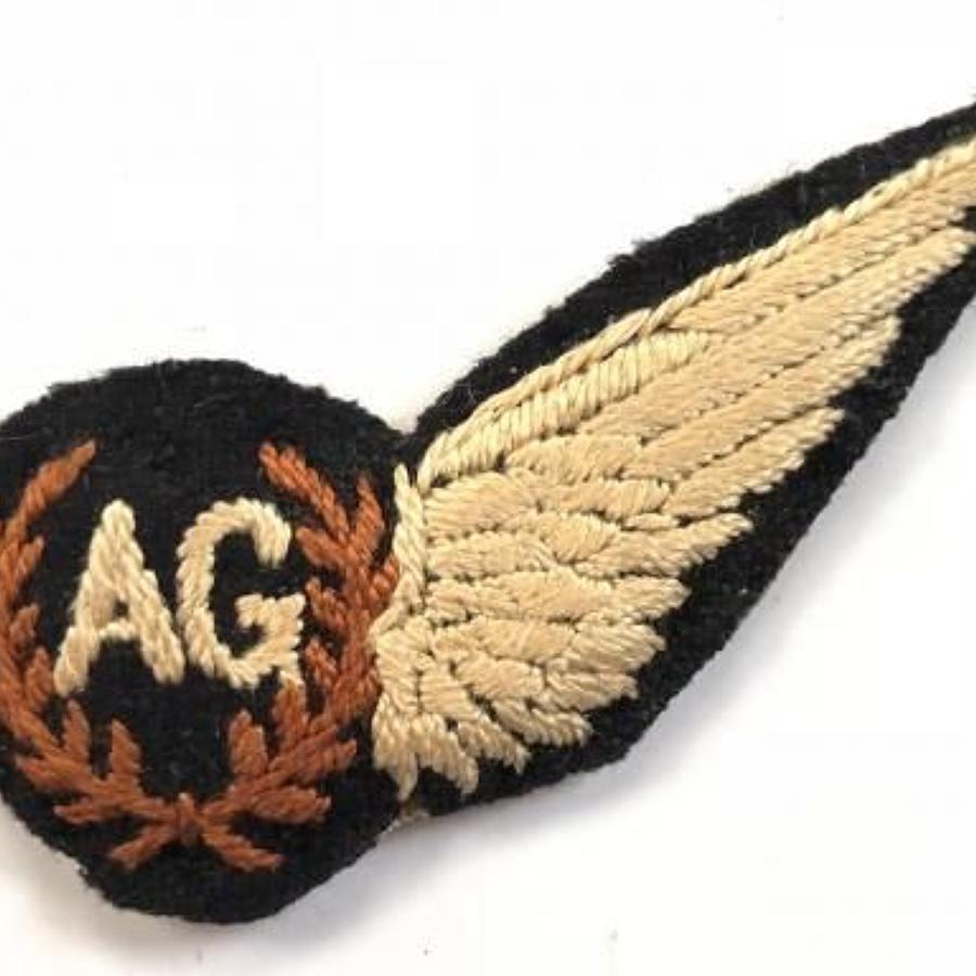 WW2 Period RAF Air Gunner Brevet Badge.