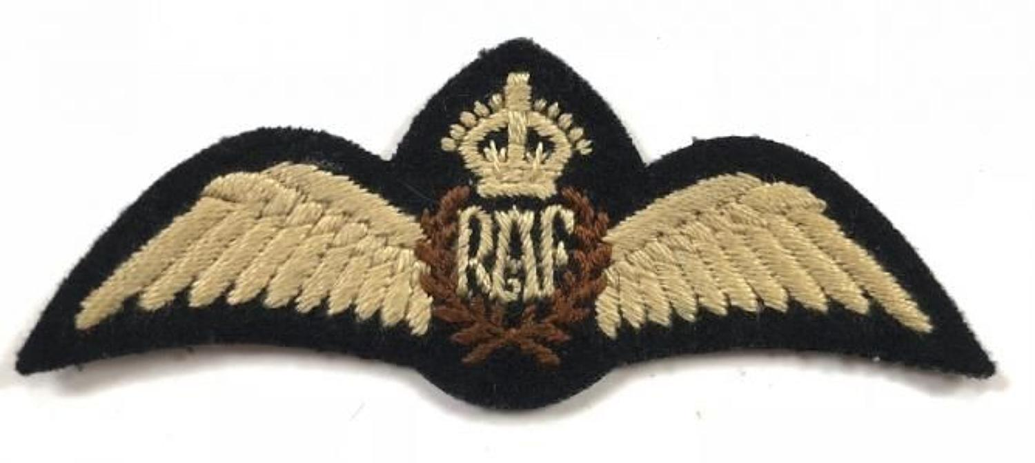 WW2 RAF Pilots Wings.