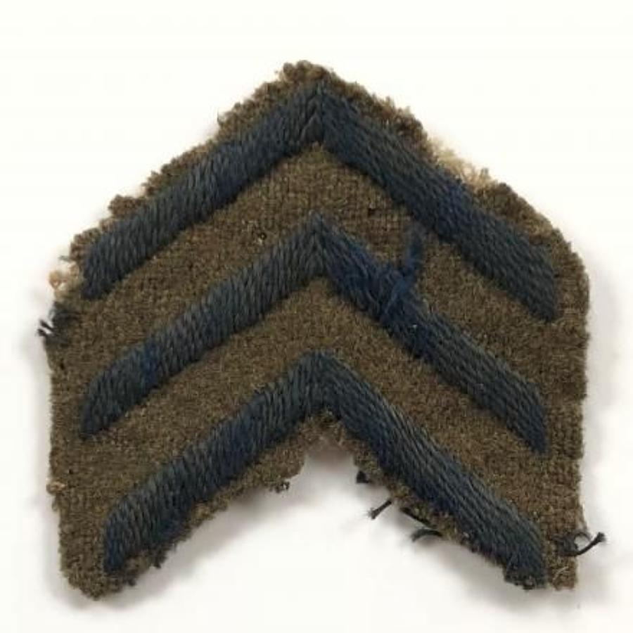 WW1 British Army Three Overseas Service Chevrons.
