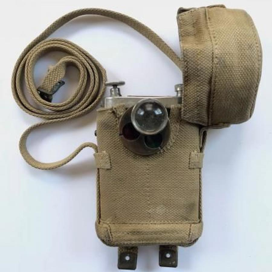 WW1 British Officer's Mills Equipment Private Purchase Trench Torch.