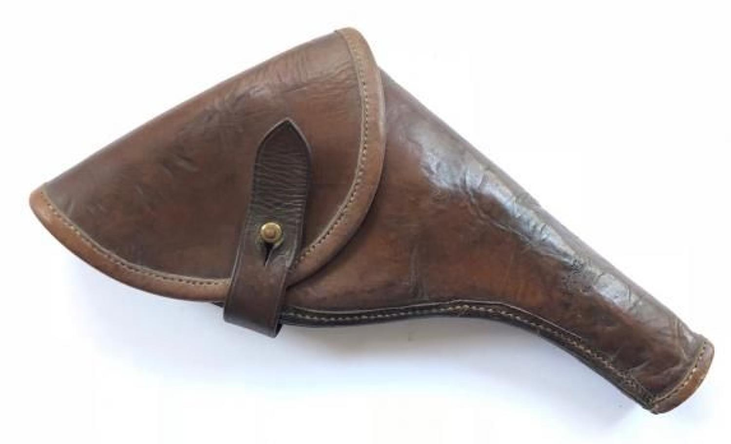 Boer War / WW1 Period Officer's Leather Holster.