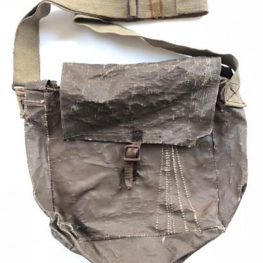WW2 Home Guard Home Made Side Bag.