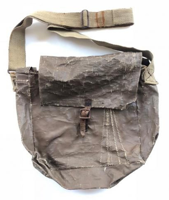 WW2 Home Guard Home Made Side Bag.