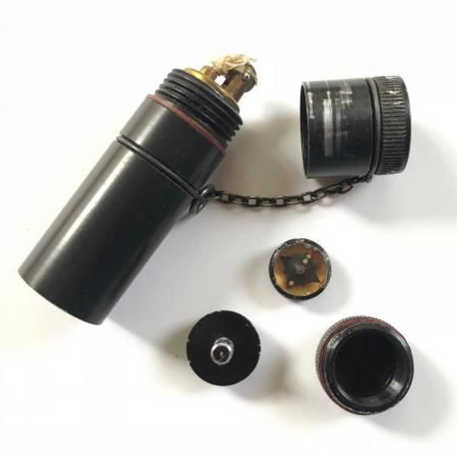 WW2 RAF / SOE Agent Issue Escape Cigarette Lighter.