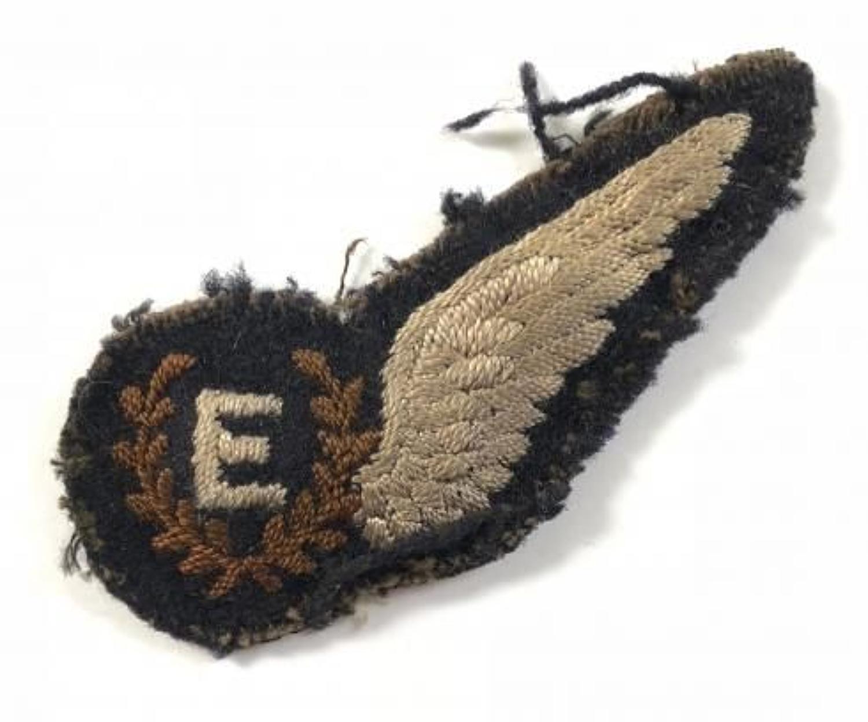 Early Post War Issue Flight Engineers Brevet Badge.
