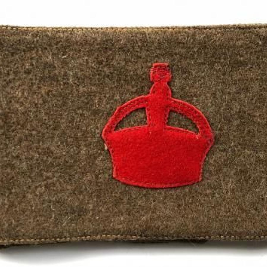 WW1 Derby Scheme Kitchener's Army Arm Band.