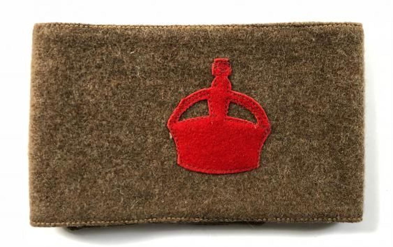 WW1 Derby Scheme Kitchener's Army Arm Band.