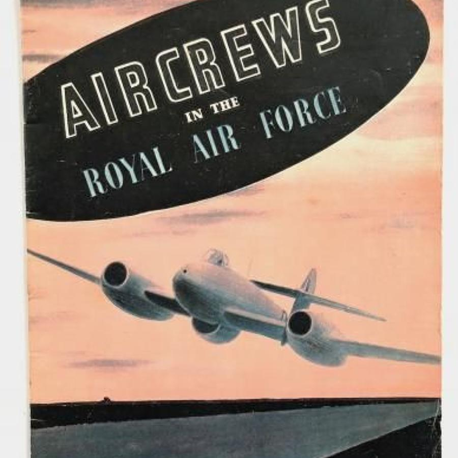RAF Cold War Period Aircrew Recruiting Booklet.