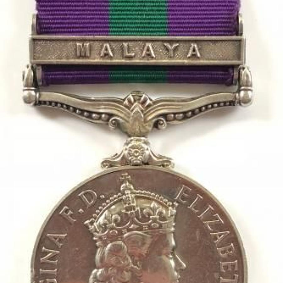 Women's Royal Army Corps Campaign Service Medal,