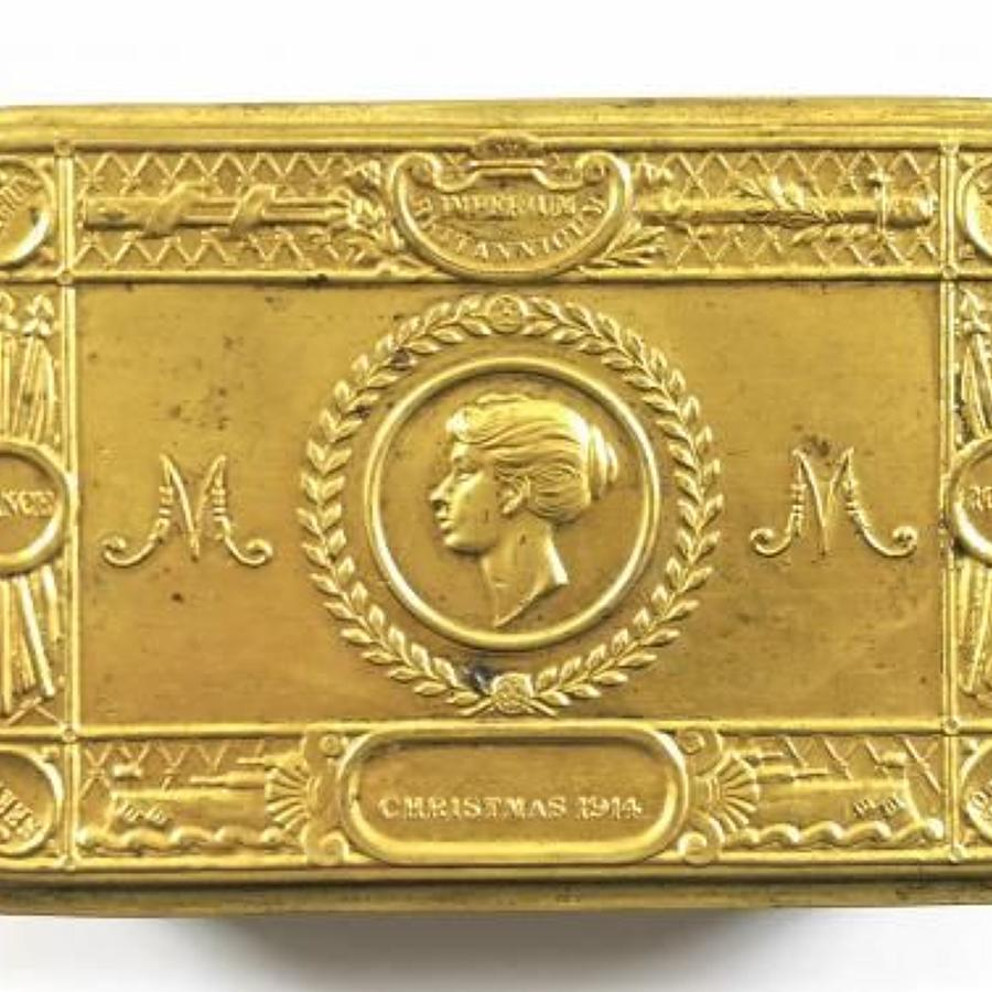 WW1 Princess Mary Christmas 1914 Gift Fund Tin