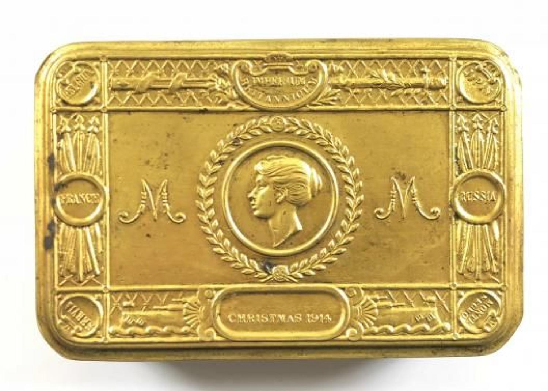 WW1 Princess Mary Christmas 1914 Gift Fund Tin