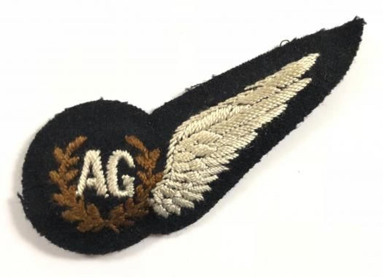 WW2 Period RAF Air Gunners Brevet Badge.