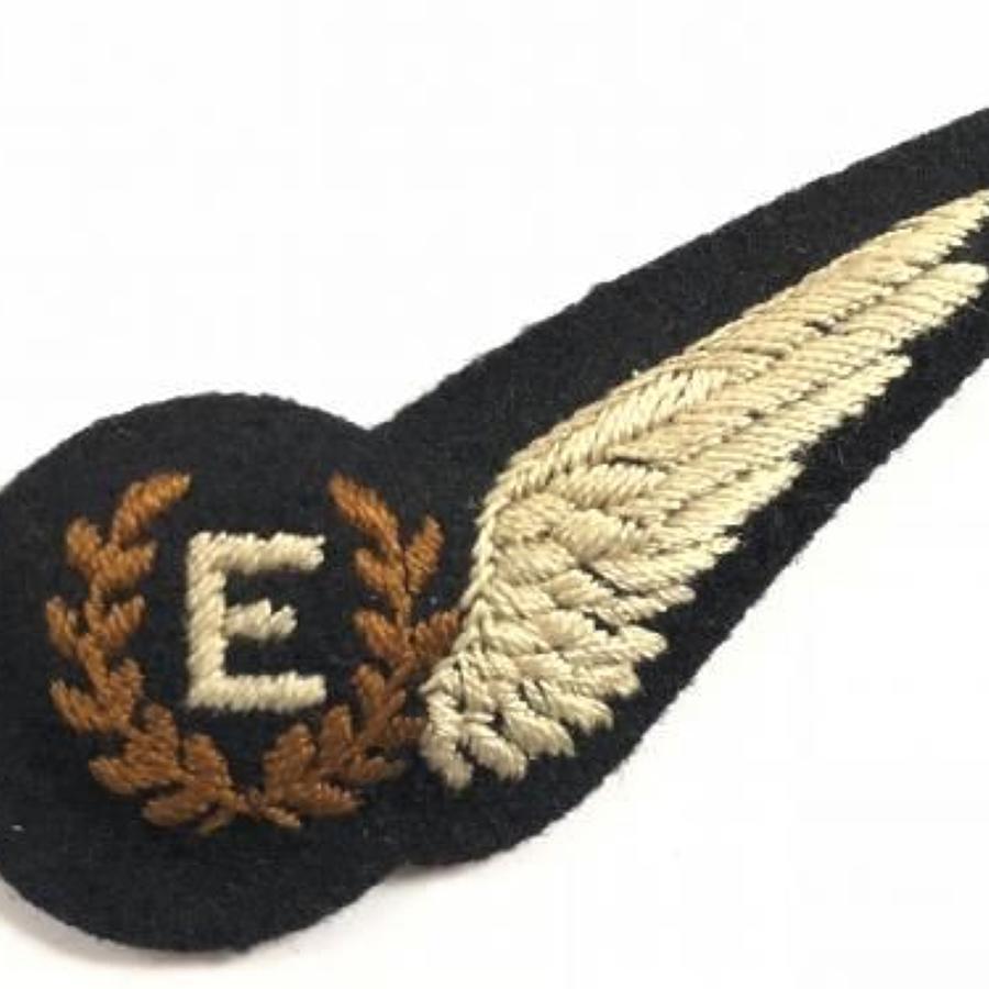 WW2 Period RAF Engineers  Brevet Badge.