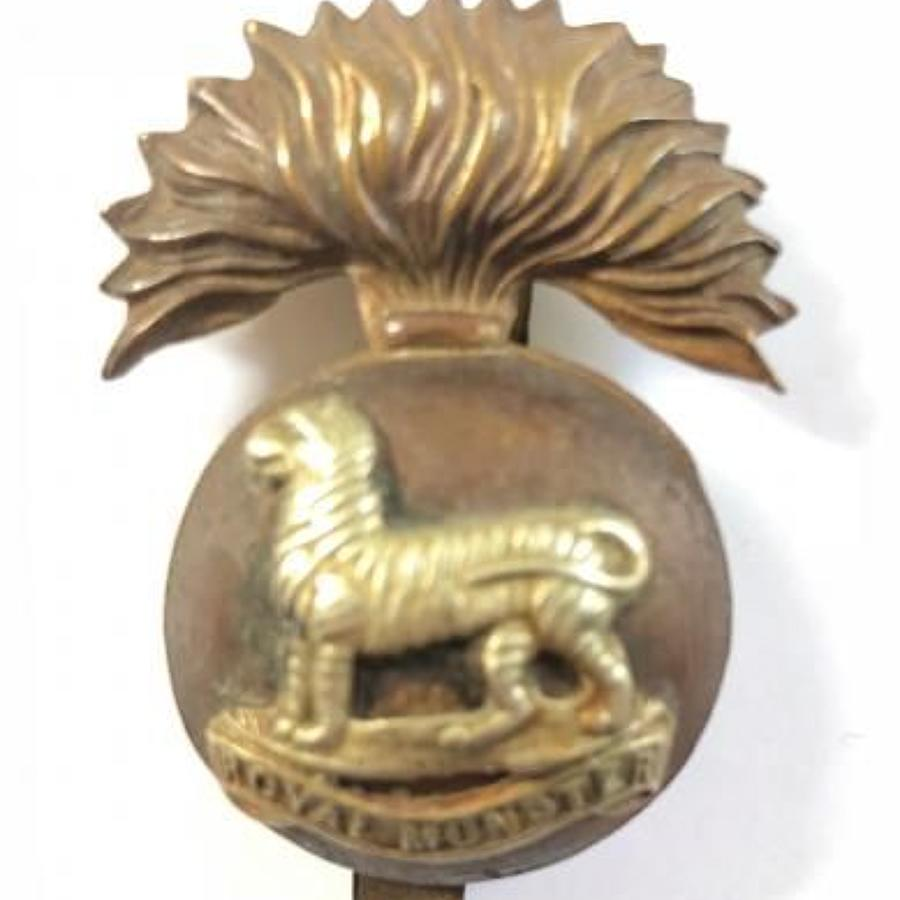 WW1 Period Royal Munster Fusiliers Cap Badge.