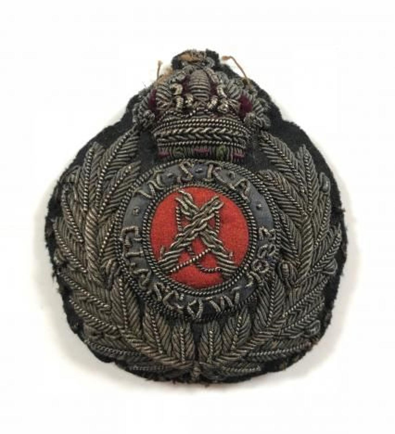 Victorian WSRA Glasgow 1883 Shooting Prize Badge.