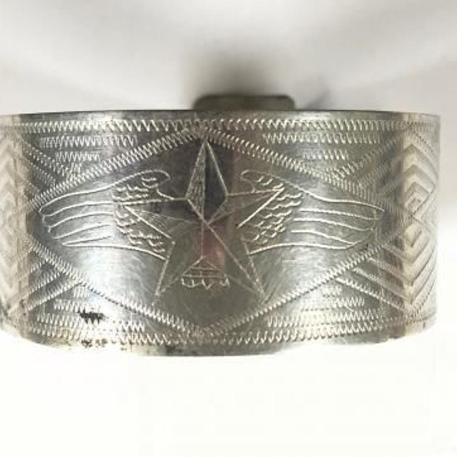 WW2 Soviet Russian Air Force Trench Art Bracelet.