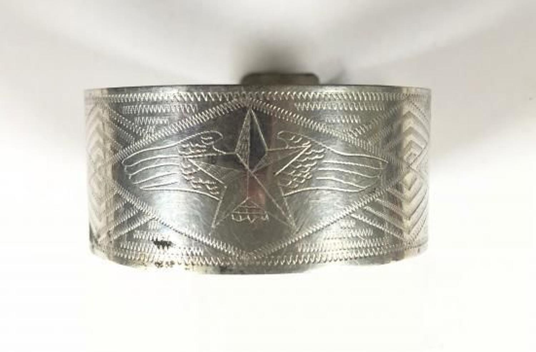 WW2 Soviet Russian Air Force Trench Art Bracelet.
