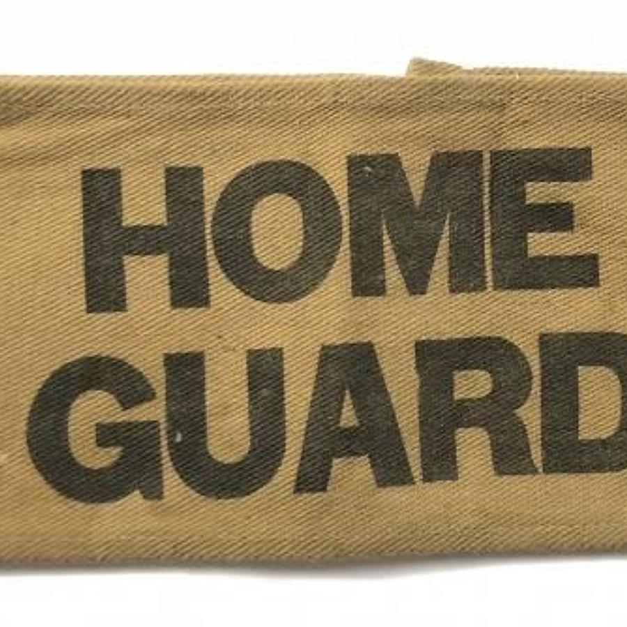 WW2 Home Guard Armband.