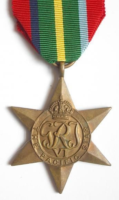 WW2 Pacific Star.