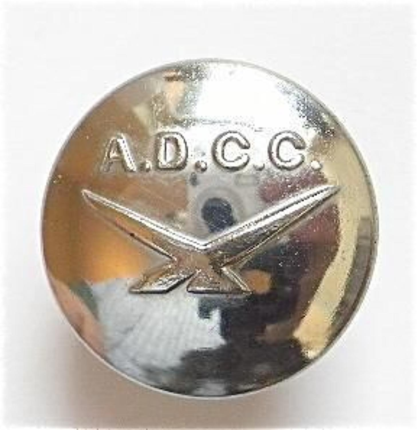 1938-1941 Air Defence Cadet Corps Button.