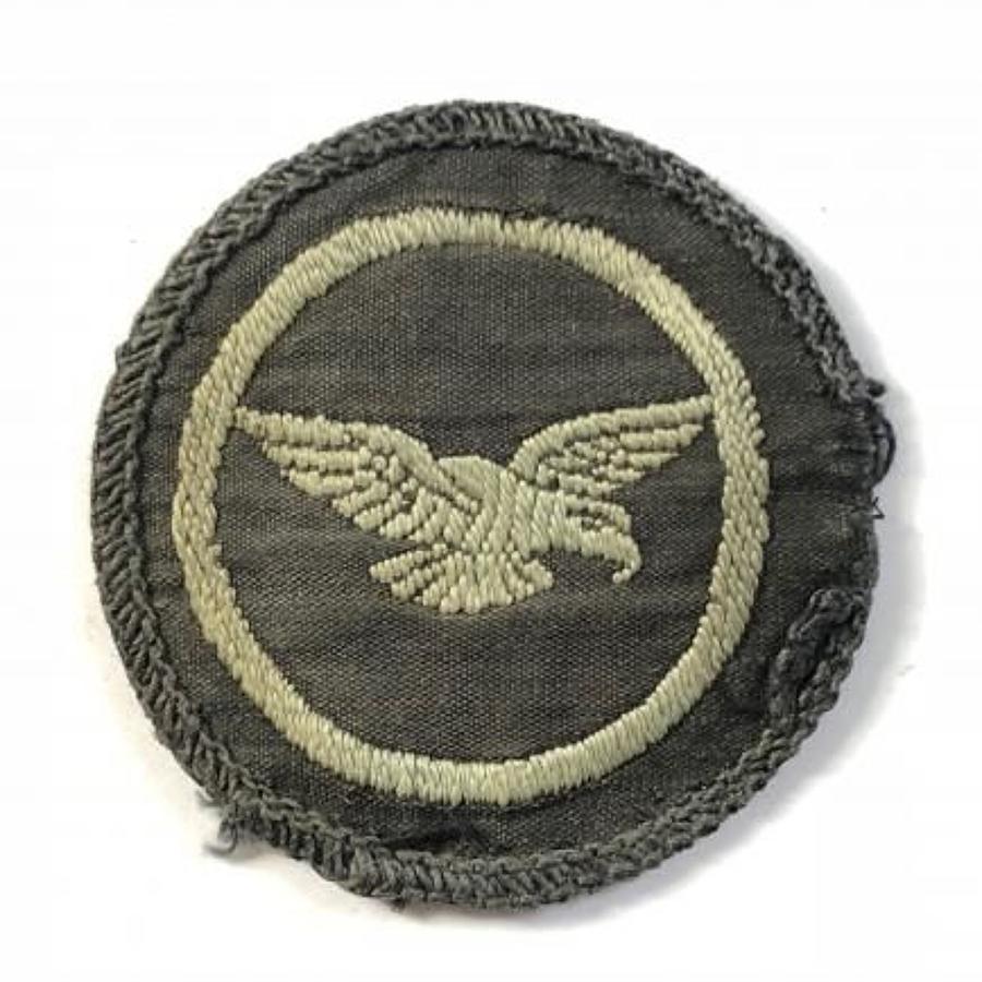 RAF ATC Flight Sergeant Eagle Badge.