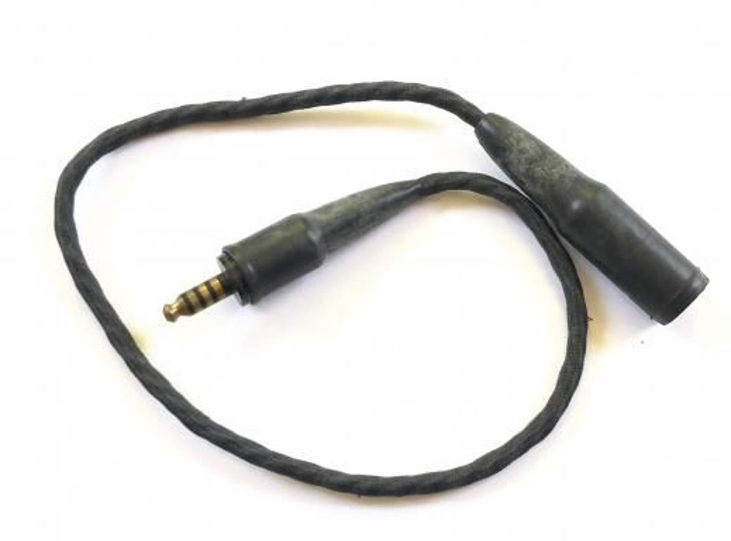 RAF Cold War Period Aircrew Cable Extension.