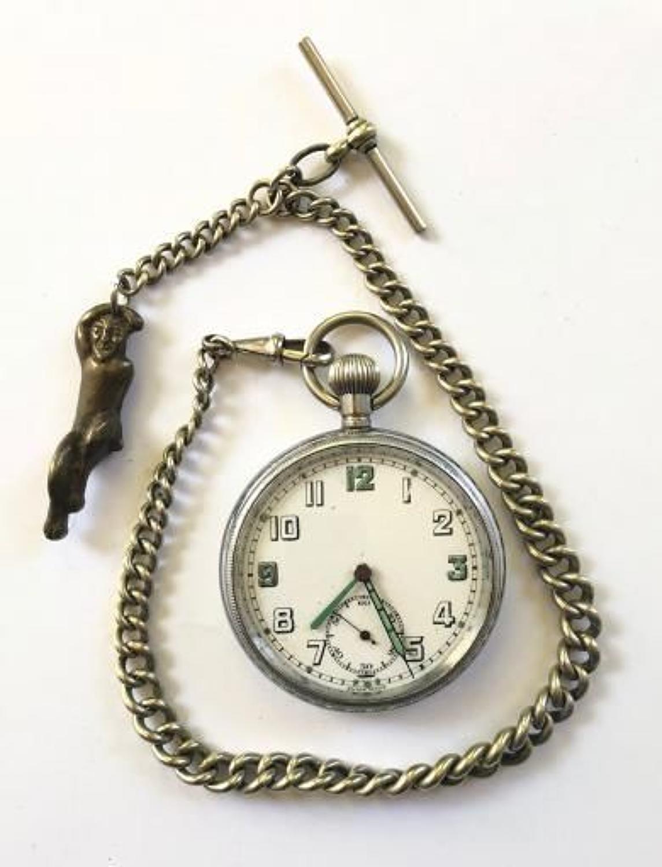 WW2 British Army General Service Time Piece Pocket Watch