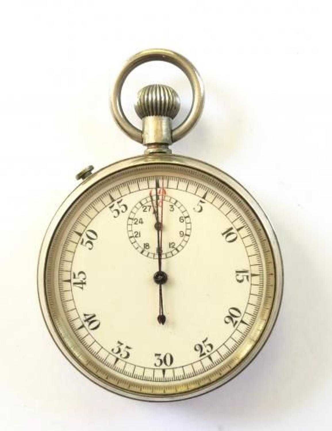 WW2 Royal Navy Admiralty Pattern Split Second Stop Watch.